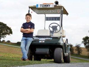 Tom Ponsonby at 11 yrs in 2014