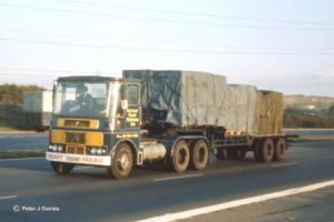 1970 Mike Ponsonby Driving Atkinson Viewlien Truck Northbound on M1 Motorway on 8th Oct 1970