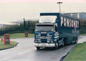 1995 D. J. Ponsonby Ltd Truck