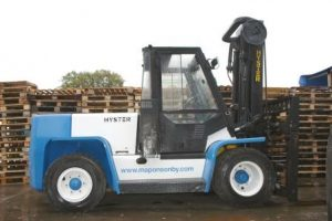 2006 Mike Ponsonbys 1st Forklift Truck in 2006